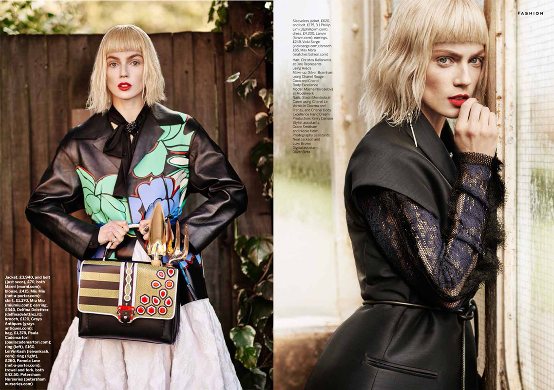 Thanassis Krikis for Stylist magazine April 2015
