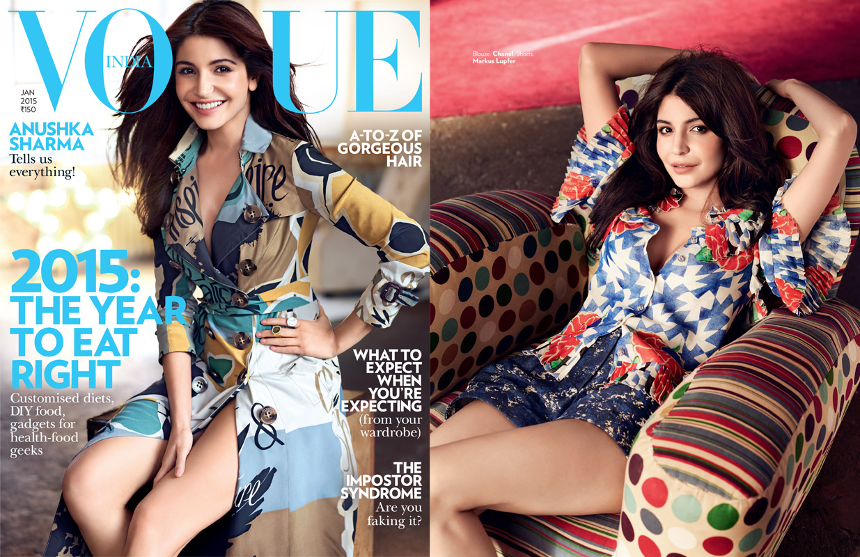 Anushka Sharma for Vogue India