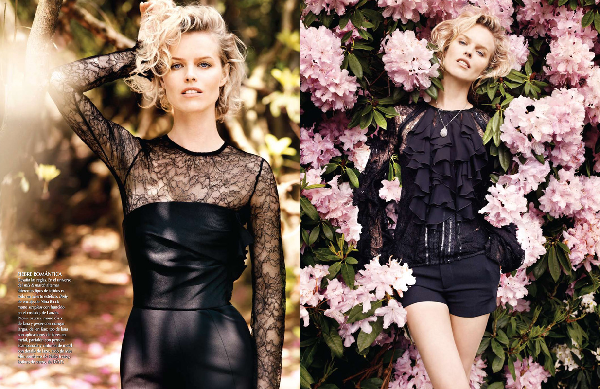Eva Herzigova for Latin Vogue