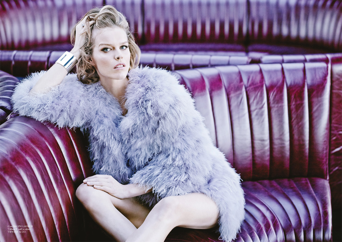 Eva Herzigová for Glass Magazine