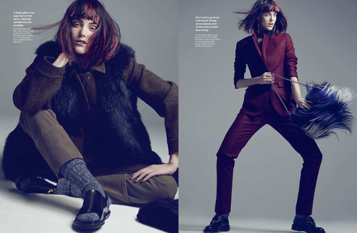 Max Abadian for October Red Magazine
