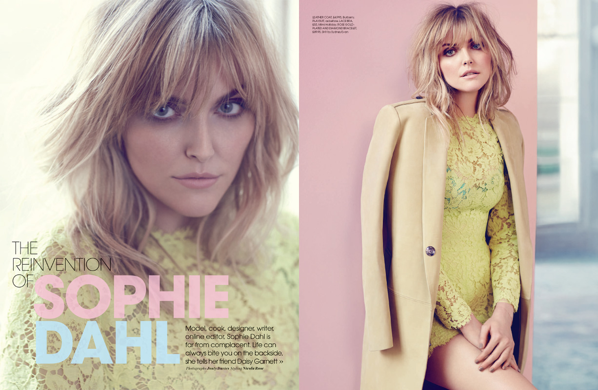 Sophie Dahl for Red Magazine