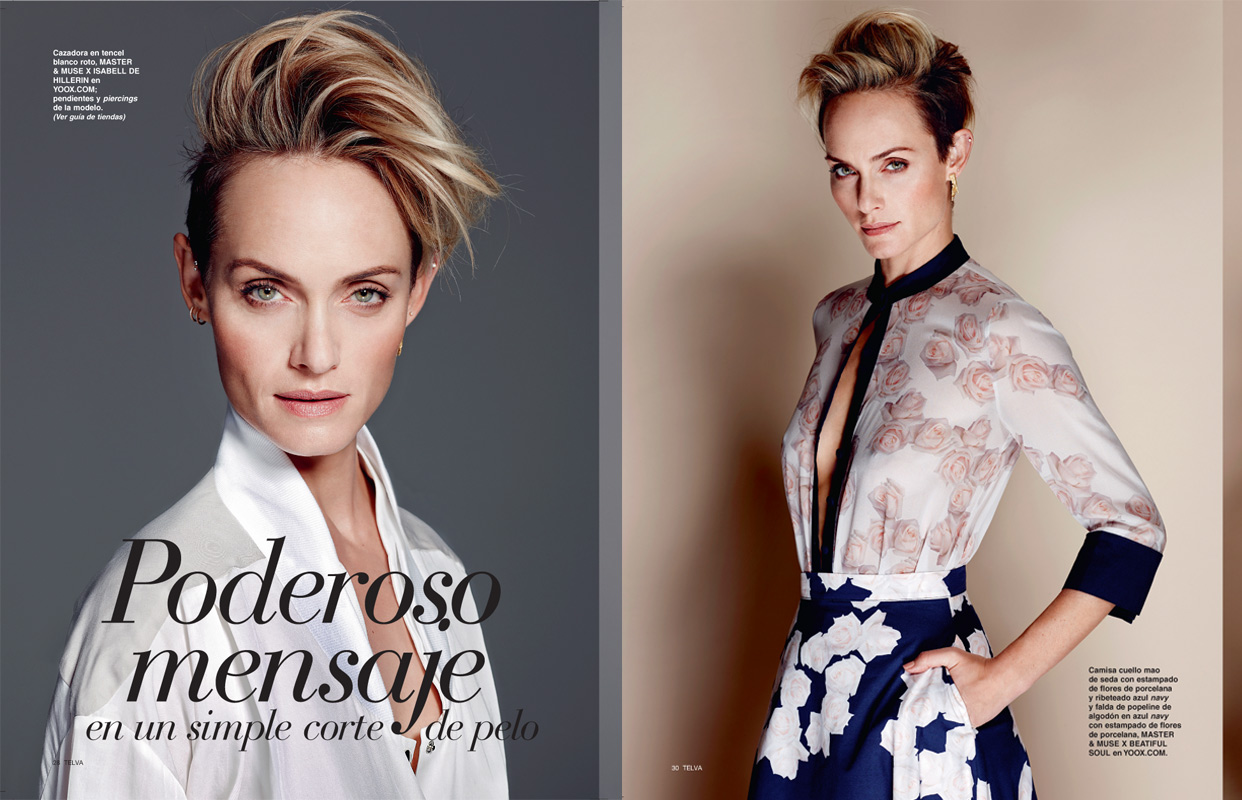 Amber Valletta for Tevla