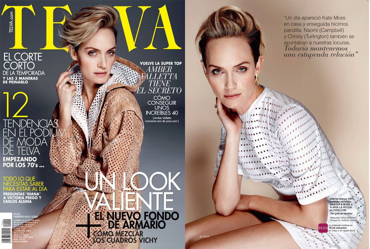 Amber Valletta for Telva